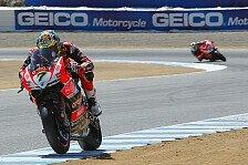 Superbike - Ducati-Festspiele: Davies holt Laguna-Pole