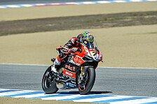 Superbike - Ducati bleibt obenauf: Sieg für Davies