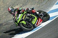 Superbike - Rea gewinnt Kawasaki-Duell in Lauf eins