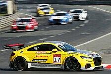 Motorsport - Alte Hasen und junge Wilde im Audi Sport TT Cup