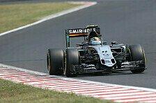 Formel 1 - Perez kämpft mit wiederaufgebautem Auto