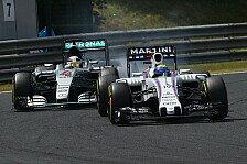 Formel 1 - Massa: So könnte Williams auf Mercedes aufholen