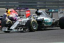 Formel 1 - Hamilton warnt vor Mercedes-Motoren im Red Bull