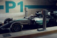 Formel 1 - Video: Rosberg vs. Hamilton im Parkhaus