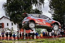 WRC - Video: Finnland, Tag 1: Speed, Crash und Drama bei Hyundai