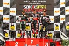 Superbike - Malaysia: Sieg für Davies in Rennen 2