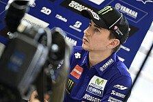 MotoGP - Lorenzo nach Misano-Sturz im Medical Center