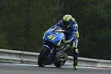 MotoGP - Suzuki in Brünn: Ein verletzter Finger im Fokus