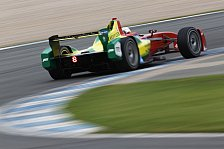 Formel E - Test: Abt mit überlegener Rekordrunde in Donington