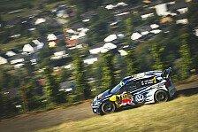 WRC - Rallye Deutschland: Latvala mit Shakedown-Bestzeit