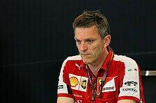 Formel 1 - Ferrari: James Allisons Frau verstorben