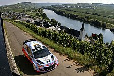 WRC - Video: Hyundai-internes Duell am Freitag in Deutschland