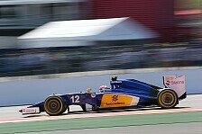 Formel 1 - Nasr: Probleme mit Bremsen gelöst