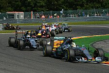 Formel 1 - Hartes Racing hinter Mercedes: Belgien GP: Team f�r Team