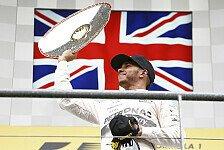Formel 1 - Hamilton: Auf Sennas Erfolge fokussiert