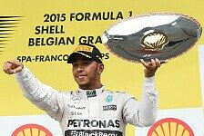 Formel 1 - Lewis Hamilton zieht mit Ayrton Senna gleich