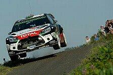 WRC - Nach Unfall: Östberg muss in Australien passen