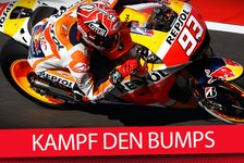 MotoGP - Video: MSM TV: Kampf den Bodenwellen