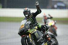 MotoGP - Smith mit Wahnsinns-Strategie auf Rang zwei