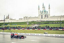 Formel 1 - Bilder: Red Bull: Showrun in Kazan