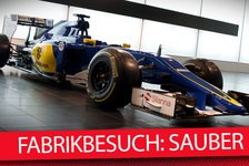 Formel 1 - Video: MSM TV - Backstage: Sauber Fabrik in Hinwil