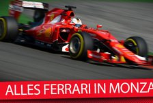 Formel 1 - Video: MSM TV: Ferrari-Mania! Top-Themen vor Monza