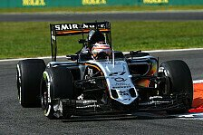 Formel 1 - Starke Performance von Force India: H�lkenberg: Hinter Mercedes ist alles m�glich