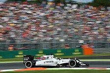Formel 1 - Bottas & Massa haben Grund zur Freude