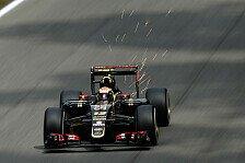Formel 1 - Maldonado sieht engen Kampf hinter Mercedes