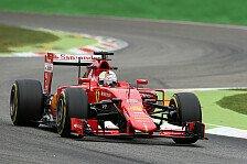 Formel 1 - Vettel kämpft für Monza-Überraschung