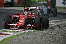 Formel 1 - Räikkönen mit seiner Leistung unzufrieden