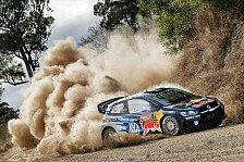 WRC - Sekunden-Duell in Australien: Ogier knapp vorne