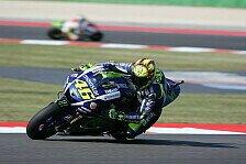 MotoGP - Schon wieder hinten: Rossi gegen Lorenzo machtlos