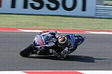 MotoGP - FP3: Lorenzo auch ohne Flügel mit Rekordzeit