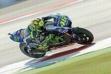 MotoGP - Liefert sich Rossi im Rennen einen großen Kampf?