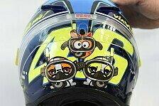 MotoGP - Bilder: San Marino GP - Valentino Rossis Special-Helm für Misano