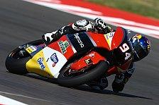 Moto2 - Folger: Brocken aus Reifen geflogen