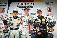 ADAC Formel 4 - Oschersleben: Mick Schumacher auf dem Podium