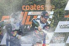 WRC - Ogier und Ingrassia zum dritten Mal Weltmeister
