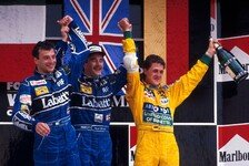 Formel 1 heute vor 28 Jahren: Schumachers Premierenpodium