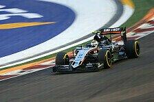 Formel 1 - Hülkenberg unzufrieden mit der Qualifikation