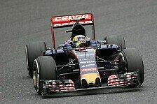 Formel 1 - Sainz zerstört Poller und seinen Frontflügel