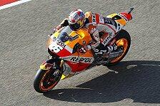 MotoGP - Pedrosa holt Hondas Kohlen aus dem Feuer