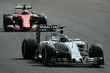 Formel 1 - Bottas gesteht: Ferrari-Gerüchte waren eine Qual