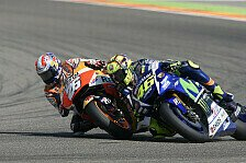 MotoGP - Pedrosa hart wie Titan: Andreas Highlight 2015: Duell in Aragon