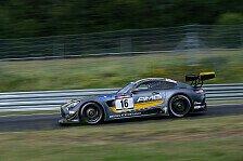 VLN - Podest für Mercedes-AMG GT3 im zweiten Einsatz