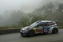 WRC - Video: Rallye Korsika: VW an Tag 1