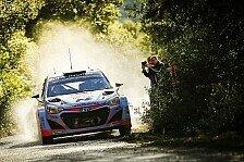 WRC - Spanien: Paddon setzt erste Bestmarke im Shakedown