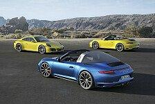 Auto - Video: Porsche zeigt 911 Targa 4 und 911 Targa 4S