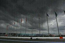 Wettervorhersage zum Russland GP: So wird das F1-Wetter in Sochi
